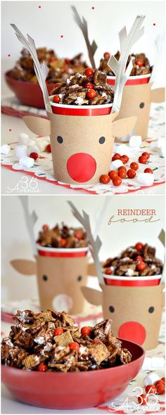 Reindeer Food Christmas Recipe at the36thavenue.com SO DARN GOOD! * Christmas paper dolls The International Paper Doll Society Arielle Gabriel artist #QuanYin5 Twitter, Linked In QuanYin5 *