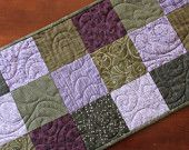 Some beautiful quilted table runners!