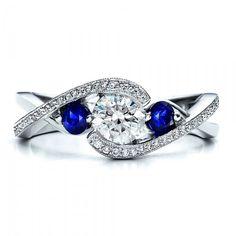 Sapphire and diamond ring (Joseph Jewelry)