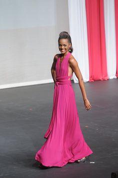 Convertible Dress - Love that color!
