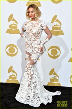 Beyonce Wears Sexy Sheer White Dress at Grammys 2014! | beyonce wears sexy sheer white dress at grammys 2014 01 - Photo