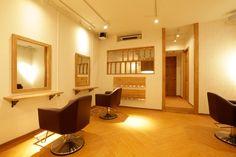 美容室 デザイン hair salon Ljus | Tracks 美容室の内装デザイン/店舗設計【トラックス】