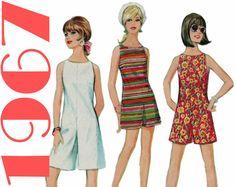 Culotte Dress Short Jumpsuit Pattern McCALLS 8815 bust 34