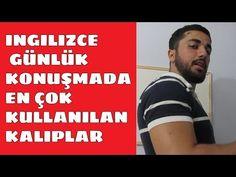 İngilizce Konuşurken En Çok Kullanılan KALIPLAR 1 l iNGİLİZCE KONUŞ !! - YouTube Youtube, English, Youtubers, Youtube Movies