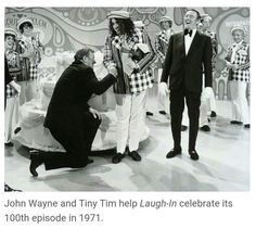 100th episode of Laugh-In 1971.