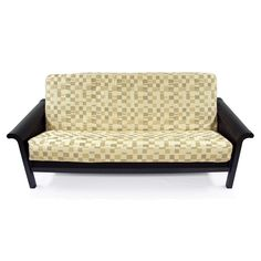 this full futon cover in times square fabric features a fabulous block pattern in a color scheme of wheat beige and coffee on a light cream background  english garden full size futon cover   overstock   shopping      rh   pinterest