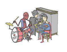 Le band.