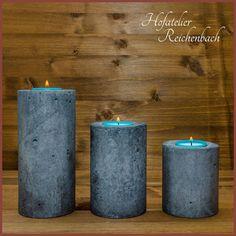 Kerzenhalter aus Beton / Concrete candle holders
