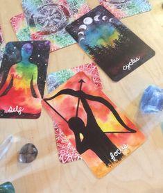 Untamed Truth Oracle Cards by Tree Talker Art Rachael image 6