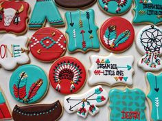 Dream Catcher Sugar Cookie Collection by NotBettyCookies on Etsy https://www.etsy.com/listing/231632812/dream-catcher-sugar-cookie-collection