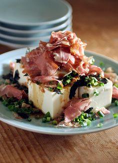 Parmaham & Tofu Salad
