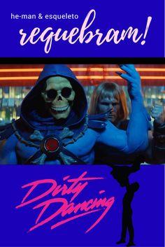 A empresa de empréstimos e seguros MoneySuperMarket tem feito uma série de comerciais musicais e hilários utilizando os personagens Esqueleto e He-Man. O mais novo comercial da empresa mostra o herói e o vilão dançando (I've Had) The Time of My Life do filme Dirty Dancing – Ritmo Quente mostrando que às vezes é melhor dançar do que lutar.