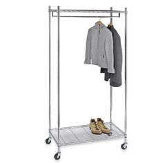 Bed Bath And Beyond Garment Rack Amusing Commercial Grade Adjustable Folding Garment Rack  For Easy Carrying Inspiration Design