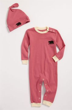 New Markdown: Infant Hatley Fitted Coveralls & Hat #Nordstrom #NSale