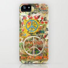 Beatles - All You Need is Love - Peace Sign - Imagine - John Lennon  iPhone & iPod Case