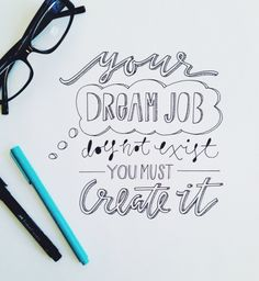 Handlettering by Courtney Shelton
