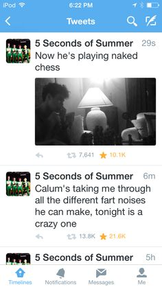 Luke's birthday was a wild one. Naked Calum play chess makes me so 8)