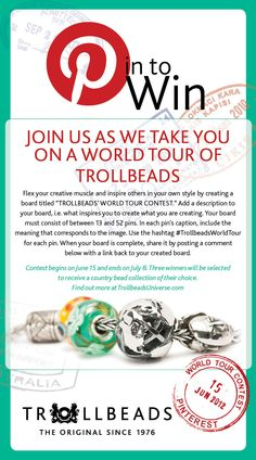 Trollbeads World Tour Contest