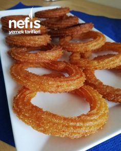 Bread Recipes, Cooking Recipes, Biscuits, Donuts, Onion Rings, Churros, Deserts, Dessert Recipes, Easy Meals