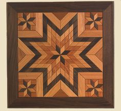 Wood Quilt Square Pattern #2..would love this for my home!!!