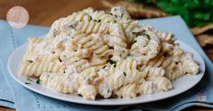Pasta tonnata Senza panna un primo piatto veloce, gustoso, sfiziosissimo e perfetto sia caldo che freddo, super cremosa e buonissima