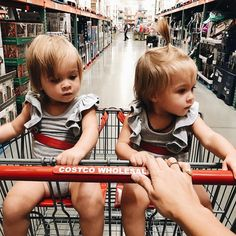 """3,324 Likes, 17 Comments - Ali Hynek (@ali_hynek) on Instagram: """"I literally run into Jeremy pushing Ethan in the cart in front of me cause the girls distract me…"""""""