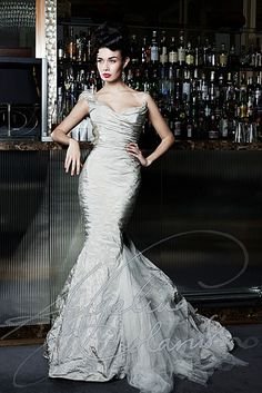 Italian bridal designer Angelina Colarusso is renowned for her distinctive dramatic style, sensuous show-stopping gowns and exquisite couture details, take a look at these gorgeous wedding dresses from her latest collection, happy pinning! Wedding Dresses London, Wedding Dress Trends, Gorgeous Wedding Dress, Dream Wedding Dresses, Designer Wedding Dresses, Wedding Gowns, Wedding Ideas, Bridal Skirts, Bridal Gowns