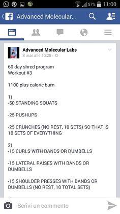 Workout 3 parte 1