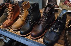 Boots, boots, boots!