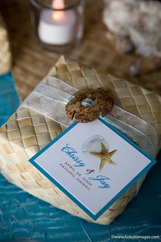 You would wonder why we always feature Diane& clay floral artistry--of DK Designs Hawaii Well, aside from it being really beautiful and l. Wedding Favor Boxes, Wedding Gifts, Wedding Stuff, Wedding Ideas, Party Gifts, Diy Gifts, Eid Hampers, Maui Weddings, Destination Weddings