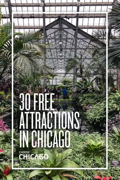 Your next trip doesn't need to be expensive! Here are 30 #Chicago attractions that are free. #ChicagoHome #travel