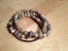 African opal wrap bracelet..