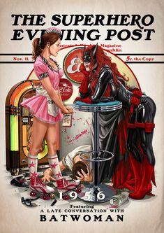 Arte Dc Comics, Dc Comics Heroes, Dc Comics Characters, Dc Comics Art, Dc Comics Girls, Batwoman, Batgirl, Supergirl, Marvel Dc