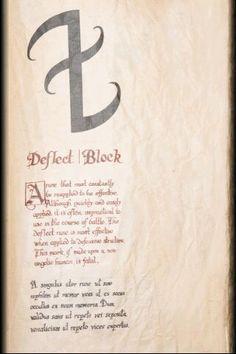 Deflect Block,The Mortal Instruments