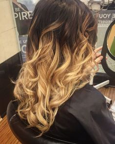 My ombre #hairstyles