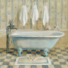 Victorian Bath IV Pôsters por Danhui Nai na AllPosters.com.br