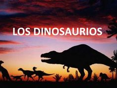 Unidad didactica dinosaurios