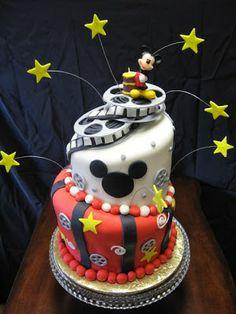 Bonita tarta de Mickey. Tartas originales.