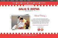 Undangan Pernikahan Online : Desain undangan online Candy - Datangya
