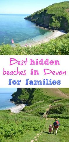 Avoid busy West Country seafronts and try out these hidden beaches in Devon for families. Walking shoes are a must for these gems but the rewards are plenty with secret coves, rock pools and breathtaking views Devon Beach, Devon Holidays, Uk Beaches, British Seaside, Family Travel, Travel Uk, Wanderlust Travel, Luxury Travel, South Devon