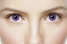 Lavender Coloured Contact Lenses
