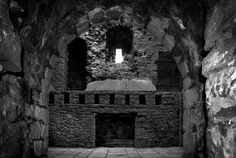 Fireplace, Clitheroe Castle by Iain.H, via Flickr
