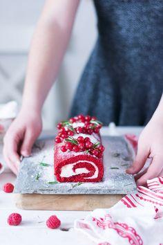 ▷ Receta de Brazo de Gitano Red Velvet - Blog My Karamelli Birthday Candles, Birthday Cake, Christmas Cross, Amazing Cakes, Macarons, Sprinkles, Bakery, Food And Drink, Cupcakes