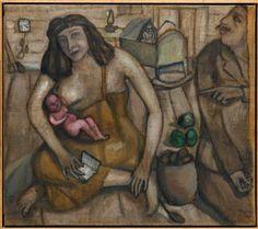 Marc Chagall - Between Surrealism & NeoPrimitivism - La sainte famille