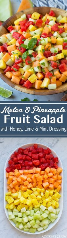 This perfectly refreshing Pineapple Cucumber Salad is wonderfully easy to make and simply delicious! A gorgeous healthy alternative to dessert!