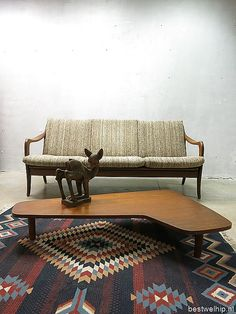 vintage lounge bank sofa couch Deense stijl De Ster Gelderland www.bestwelhip.nl