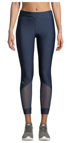 Under Armour Anklette Mesh Cropped Leggings.You can find Under armour and more on our website.Under Armour Anklette Mesh Cropped Leggings. Mesh Workout Leggings, Mesh Yoga Pants, Running Leggings, Sports Leggings, Women's Leggings, Tights, Nike Under Armour, Under Armour Women, Suits Tv Shows