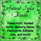 $ This money saving bundle includes all of my Ancient India products: Ancient India PowerPoint and Guided Notes {Harappa, Maurya, Gupta} and more!
