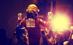 Fernando Alonso Celebration F1 Wallpaper