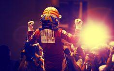 Fernando Alonso Celebration F1 Wallpaper